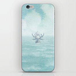 The Antlered Ship - Title Page iPhone Skin