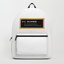 Player 1 Player 2 Unavailable Backpack