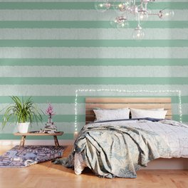 Half Knit Mint Wallpaper