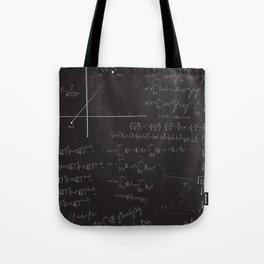 Mathematical seamless pattern Tote Bag