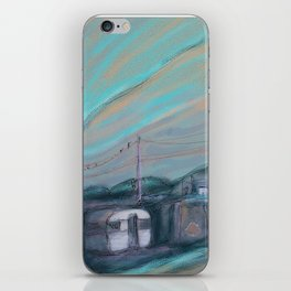 Masts, dishes and wires iPhone Skin