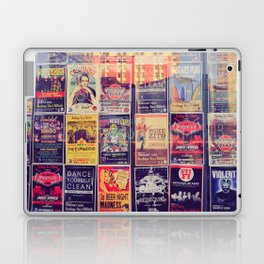 Concert posters Laptop & iPad Skin