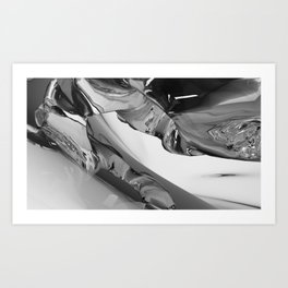 Chrysocolla (series) - 01 Art Print