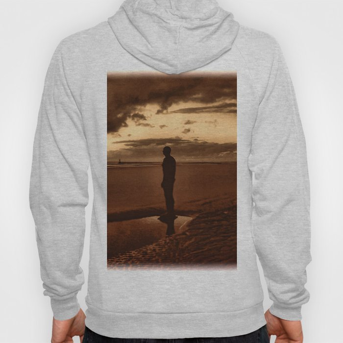 Another Place on Crosby Beach Hoody