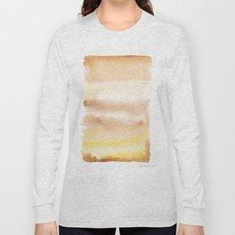 180815 Watercolor Rothko Inspired 2| Colorful Abstract | Modern Watercolor Art Long Sleeve T-shirt