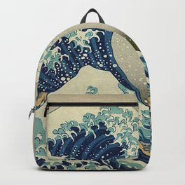 THE GREAT WAVE OFF KANAGAWA - KATSUSHIKA HOKUSAI Backpack