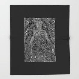 Spectral Lines Throw Blanket