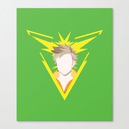 Team Instinct leader - Spark Canvas Print