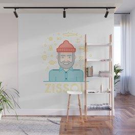 The life aquatic zissou Wall Mural
