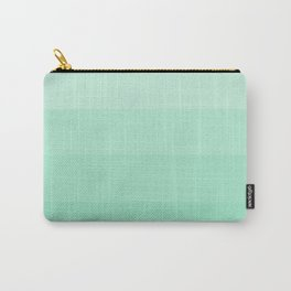 Soft Seafoam Green Hues - Color Therapy Carry-All Pouch