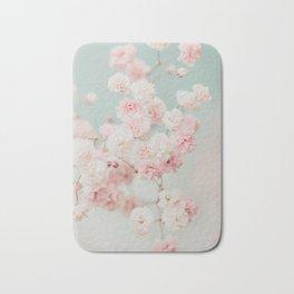 Gypsophila pink blush ll Bath Mat