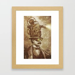 The Projectionist (sepia option) Framed Art Print