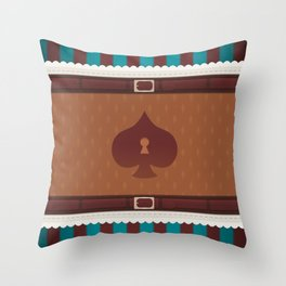 Jester of the Skies Throw Pillow