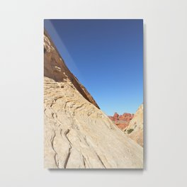 Sandstone Desert Metal Print