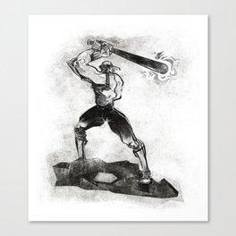 The Designated Slugger  Canvas Print