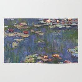 Water Lilies (Nymphéas), c.1916 Art, Monet Rug
