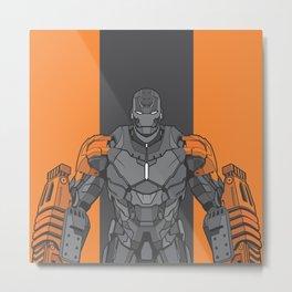 Iron Man XXV Metal Print