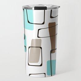 Midcentury Modern Shapes Travel Mug
