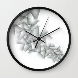 Cubical Abstraction Wall Clock