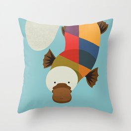 Platypus Throw Pillow