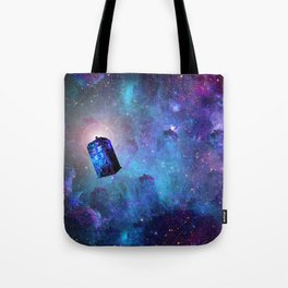 Travel Through Time Tote Bag