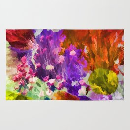 Explosion of Color Rug