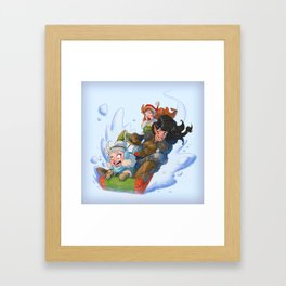 Ladies of Vox Machina! Framed Art Print