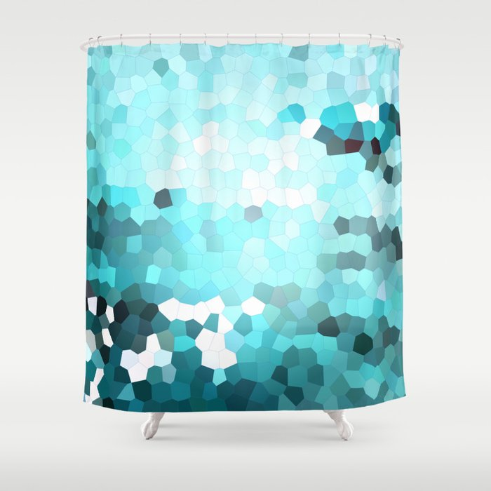 Hex Dust 2 Shower Curtain