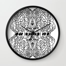 Randomabstract Wall Clock