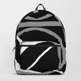 Geometric Unity Centered in a Circle Backpack
