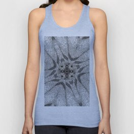 Chaotic Lines Unisex Tank Top