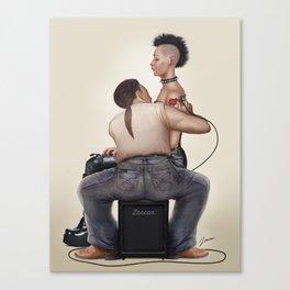 Tattoo shop Canvas Print