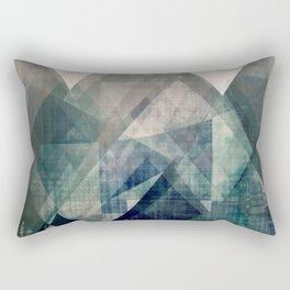 Mountains print, Abstract print, geometric wall art, abstract mountain, minimalist art, modern art, Rectangular Pillow