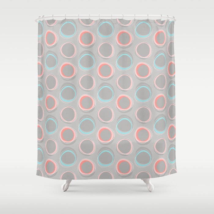 Solar Eclipse MCM Baby Shower Curtain by miavaldez | Society6