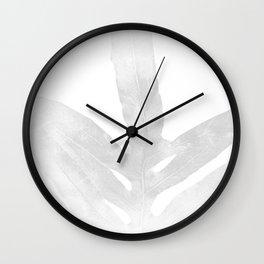 Ghost Fern Wall Clock