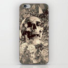The Final Curtain (Sepia) iPhone Skin