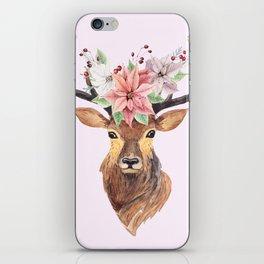 Winter Deer iPhone Skin