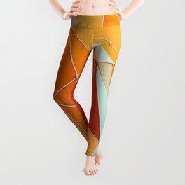Geometric Triangles Leggings