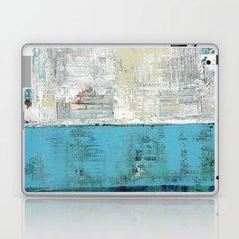 Fairbanks Abstract Light Blue White Laptop & iPad Skin