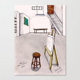 MEMORIES OF MY INNER CHILD 1# - Art Studio Canvas Print