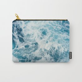 Sea Swirl Carry-All Pouch