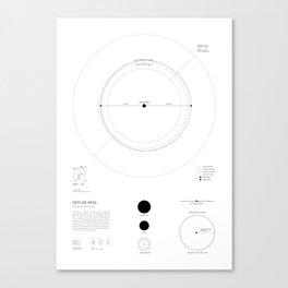 Exoplanet Keplar 442b Canvas Print