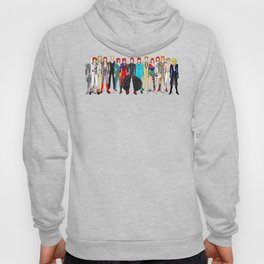 Gray Heroes Group Fashion Outfits Hoody