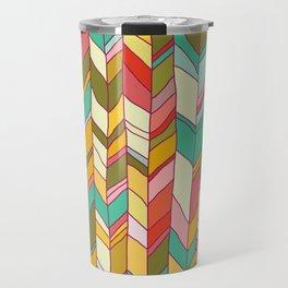 Knitted Pattern Travel Mug