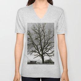 L'arbre de Gourdon Unisex V-Neck