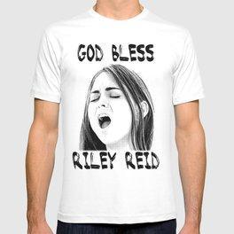God bless Riley Reid T-shirt