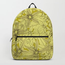 deadly nightshade chartreuse Backpack