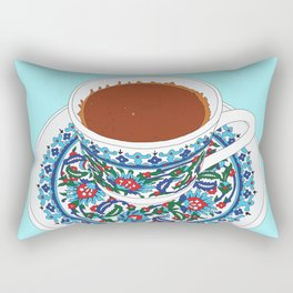 Turkish Coffee Rectangular Pillow