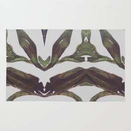 Olive Wings Rug