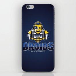 Desert County Droids - Navy iPhone Skin